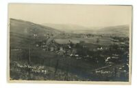 RPPC LVRR Lehigh Valley Railroad NAPLES NY Ontario County Real Photo Postcard