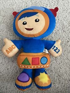 Team Umizoomi Learning Adventure Plush Talking Singing GEO Tested Works (A-2)