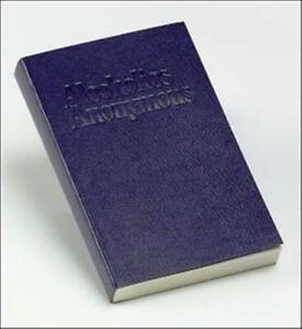 AA ALCOHOLICS ANONYMOUS BIG BOOK POCKET SIZE 4TH EDITION RECOVERY SOBRIETY ~ NEW