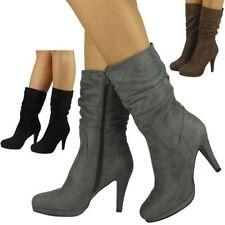 Fur Mid-Calf Women's Boots