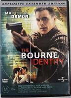The Bourne Identity Extended Edition DVD 2002 Movie Matt Damon