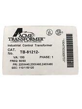 NIB ACME TRANSFORMER TB-81212
