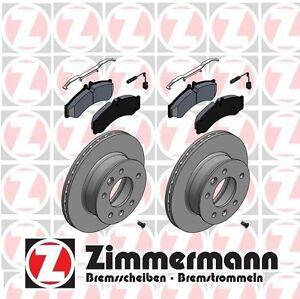 For Dodge Mercedes Freightliner 2500 3500 Rear Brake Pad Rotors Kit Zimmerman