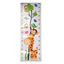 Removable Cartoon Height Chart Growth Measure Decal Wall Sticker For Kids