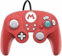 Super Mario Nintendo Switch GameCube Style Wired Fight Pad Pro Controller