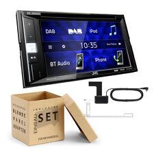 JVC 2-DIN Autoradio/Radio KW-V255DBTE Multimedia Receiver DAB+/WMA/DVD - 4x50W