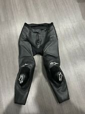 Alpinestars leather missile track pants