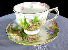 Vintage Royal Albert Bone China Kentish Rockery Tea Cup & Saucer