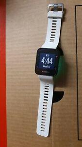 Garmin Forerunner 35 Heart Rate Monitor GPS Running Watch - White NO CHARGER