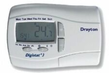 Drayton Digistat+3 7 Day Battery Powered Digital Programmable Room Thermostat