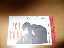 BIGLIETTO TICKETS CONCERTO ICE CUBE SUPPORT DA LENCH MOB MILANO 1993
