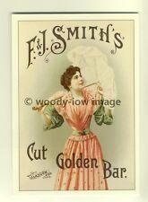 ad3335 - F&J.Smiths , Cut Golden Bar - Modern Advert Postcard