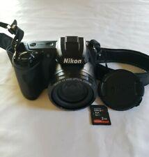 Nikon Coolpix L105 Digital Camera 15x Optical Zoom