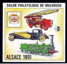 BLOC CNEP No 13 ALSACE Mulhouse POMPIER TRAIN VOITURE NEUF LUXE **