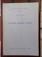 CORSO DI CIVILTA' GRECA Parte II° ISTITUZIONI PUBBLICHE E PRIVATE Emilio Pinto