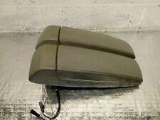 Audi A8 D3 4E Grey Leather Center Console Armrest Pair 4E0864206AE