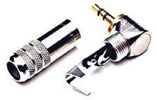 Switchcraft - 35hdranau - 3.5mm/0.3cm MINI ad angolo retto spina stereo -