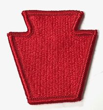 """WWII US 28th INFANTRY DIVISION """"KEYSTONE""""  SLEEVE PATCH INSIGNIA"""
