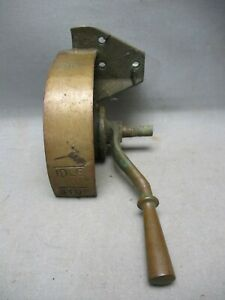 Antique Boat Throttle Lever Control Solid Bronze Brass A4335N