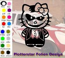 Kitty Joker JDM Sticker Adhesivo OEM PS Power Fun Shocker Fun