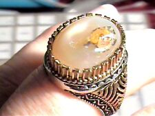 Sterling Silver 925 ring AGATE NATURAL ELEGANT BOLD NICE 8 BOLD UNISEX MEN WOME