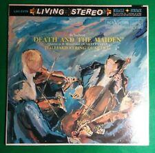 Juilliard String Quartet Schubert Death And The Maiden LP RCA LSC-2378 Original