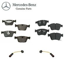 Mercedes-Benz W164 ML63 AMG Front & Rear Disc Brake Pad Set with Sensors Genuine