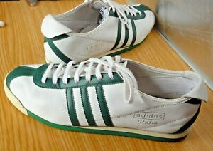 Excell.+ ADIDAS (Reissue Edition) Italia 1960 white & green Trainers 10.5US 45EU
