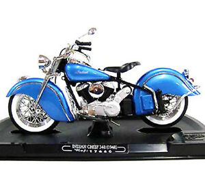 Guiloy  #17660 1/10 INDIAN CHIEF 384 (1948) / NAVY-BLUE