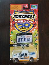 Matchbox Across America 50th Birthday Series Utah Ford Explorer Sport Trac NIB