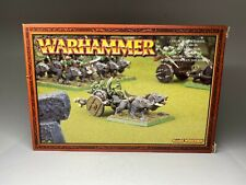 Warhammer Orcs and Goblins - Goblin Chariot  with wolves - OOP Bare Metal