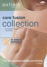 Exhale: Core Fusion Collection DVD, 2010, 3-Disc Set Very Good Condition