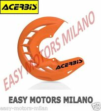 0016057.010 ACERBIS COPRIDISCO COVER DISCO FRENO ANTERIORE ARANCIO X-BRAKE CROSS