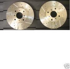 Civic 1.6 Vti Em1 Ek4 Eg6 perforados acanalado Discos De Freno 282mm