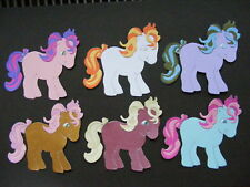 Two My Little Pony Ponys Horses Die Cuts (Scrapbook)