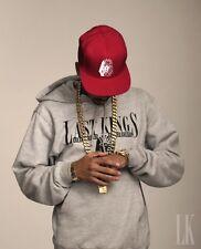 Last Kings Hoody Size XXL Grau Hoodie TYGA Mac Miller YMCMB OVOXO Tisa Dope New