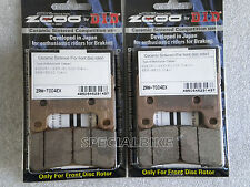 SUZUKI GSXR 600 2004 > 2010 PASTIGLIE FRENO ZCOO GSX-R RACING BRAKE PADS