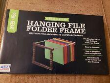 Pen Gear Plastic Legalletter Size Hanging File Folder Frame No Folders
