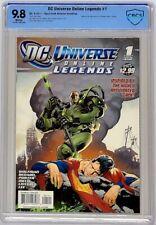 DC Universe Online Legends #1 2011 CBCS 9.8 Ryan Sook Cover Equals Top CGC Grade