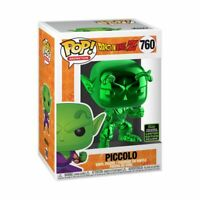 Dragon Ball Z - Piccolo Green Chrome ECCC 2020 Exclusive Pop! Vinyl [RS]-FUN4...