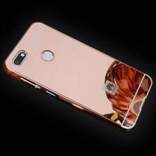MIROIR / Miroir Pare-chocs en aluminium 2 pièces rose pour Huawei Y6 2018