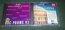 BBC MUSIC PROMS 1993/1994: - 4 CD SET: SIBELIUS COPLAND BEETHOVEN MOZART ETC