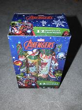 Marvel Avengers 12 Nouveauté Crackers-Entièrement NEUF dans sa boîte