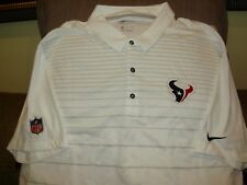NFL Houston Texans Nike Dri Fit Cool White Early Season Polo Golf Shirt Mens  3xl 8f7d998b0