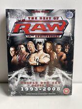 DVD BOXSET WWE WWF THE BEST OF RAW 15TH ANNIVERSARY 1993-2008 NEW SEALED