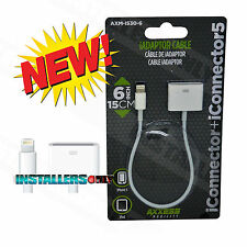AXM-I530 Lightning Plug to Apple Dock Adapter for iPhone (For Charging Only)