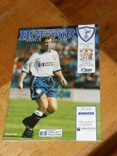 Tottenham Hotspur v Coventry City Programme March 30 1996 Spurs 30-03-96