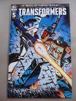 Transformers #5 IDW Comics Guidi 1:10 Variant COVER C RI 2019 NM