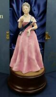 Royal Doulton QUEEN ELIZABETH QUEEN MOTHER Ltd Edt figure + box & plinth HN 2882