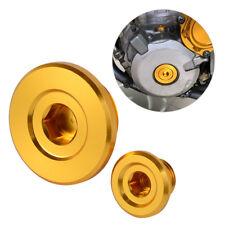 Engine Crankcase Cover Plug Screw Bolt For Suzuki RMX450Z RMZ250 RMZ450